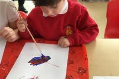 Reception -  Exploring Colour Mixing