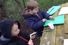 Reception Forest Schools