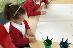 Squiggling in Reception