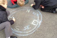 Year 4 Exploring the 8 points of compass